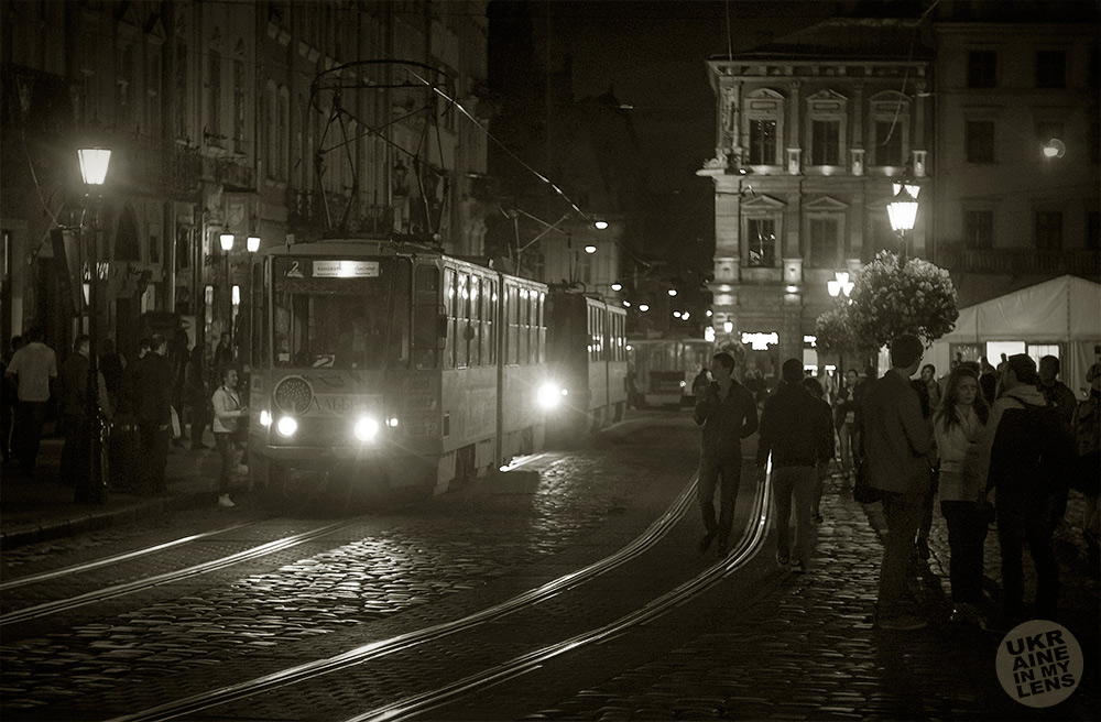 Жизнь ночного Львова