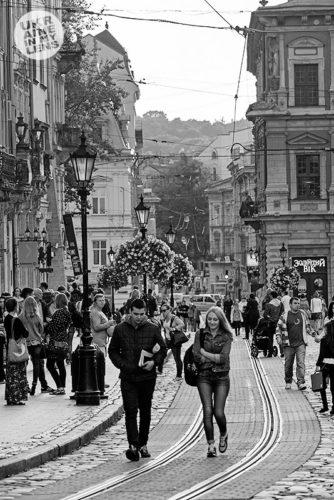 Прогулка на площади Рынок
