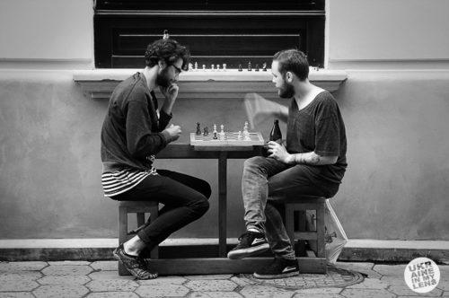 Игра в шахмты