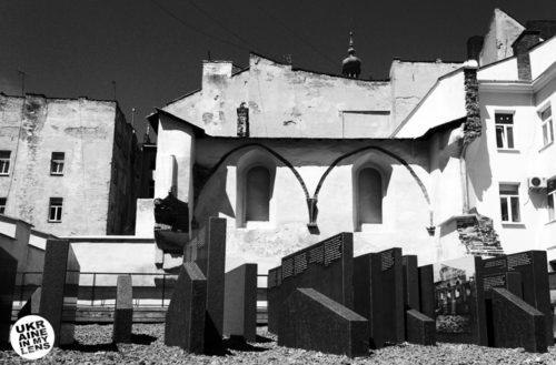 Руины Синагоги Золотая Роза во Львове