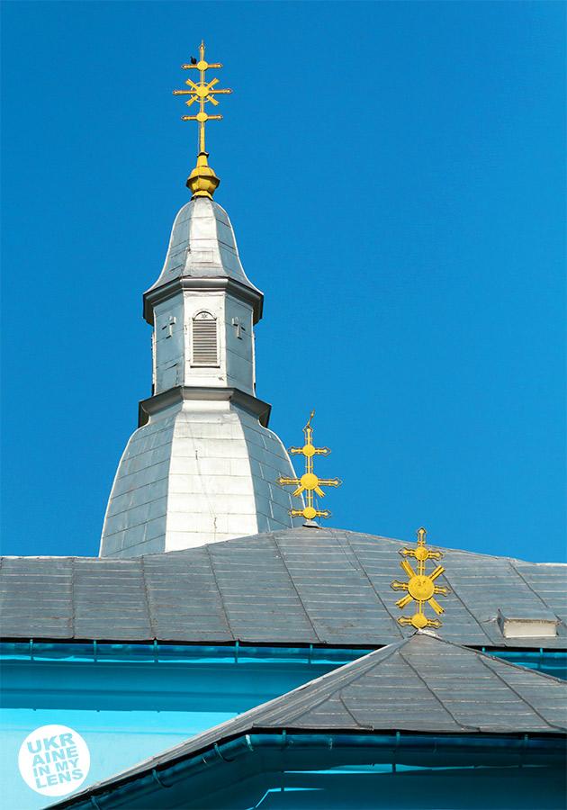 Успенская церковь села Синевир. Купола