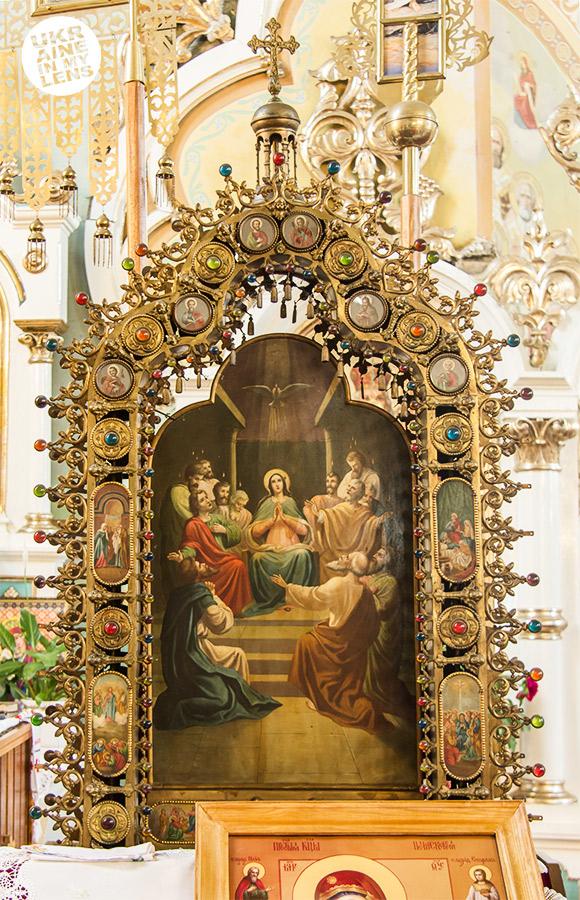 Успенская церковь села Синевир. Икона