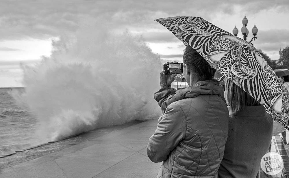 Фотографируя волну