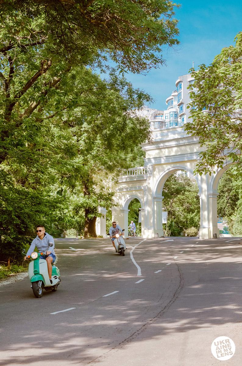 Фото Одессы 2018. Спуск на Ланжерон