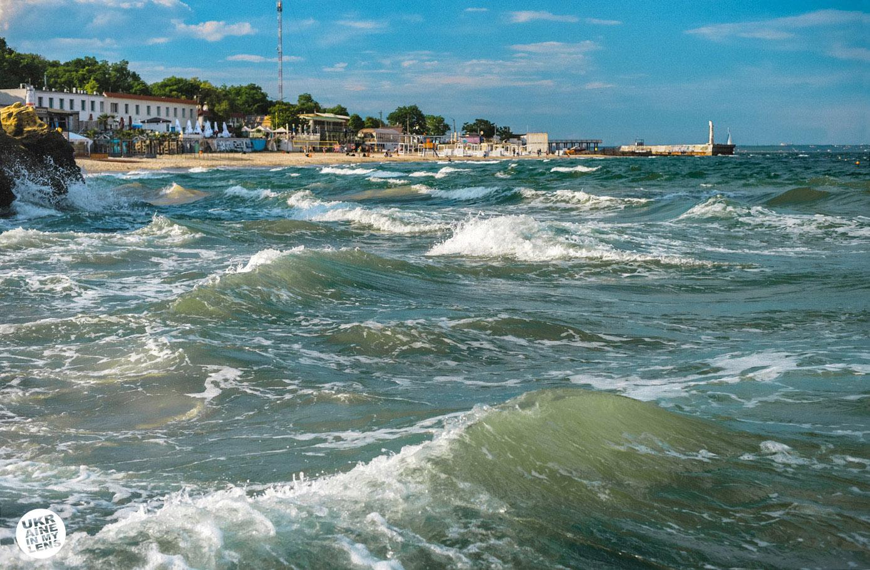Фото Одессы 2018. Волны Черного моря