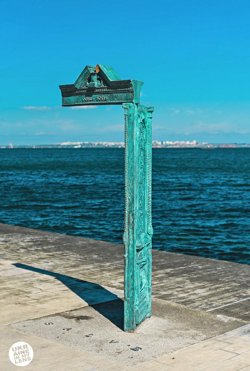 Арт-объект «Дом солнца» (Domus solis) на набережной Ланжерон в Одессе