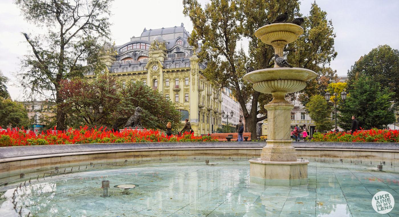Городской сад в Одессе. фото