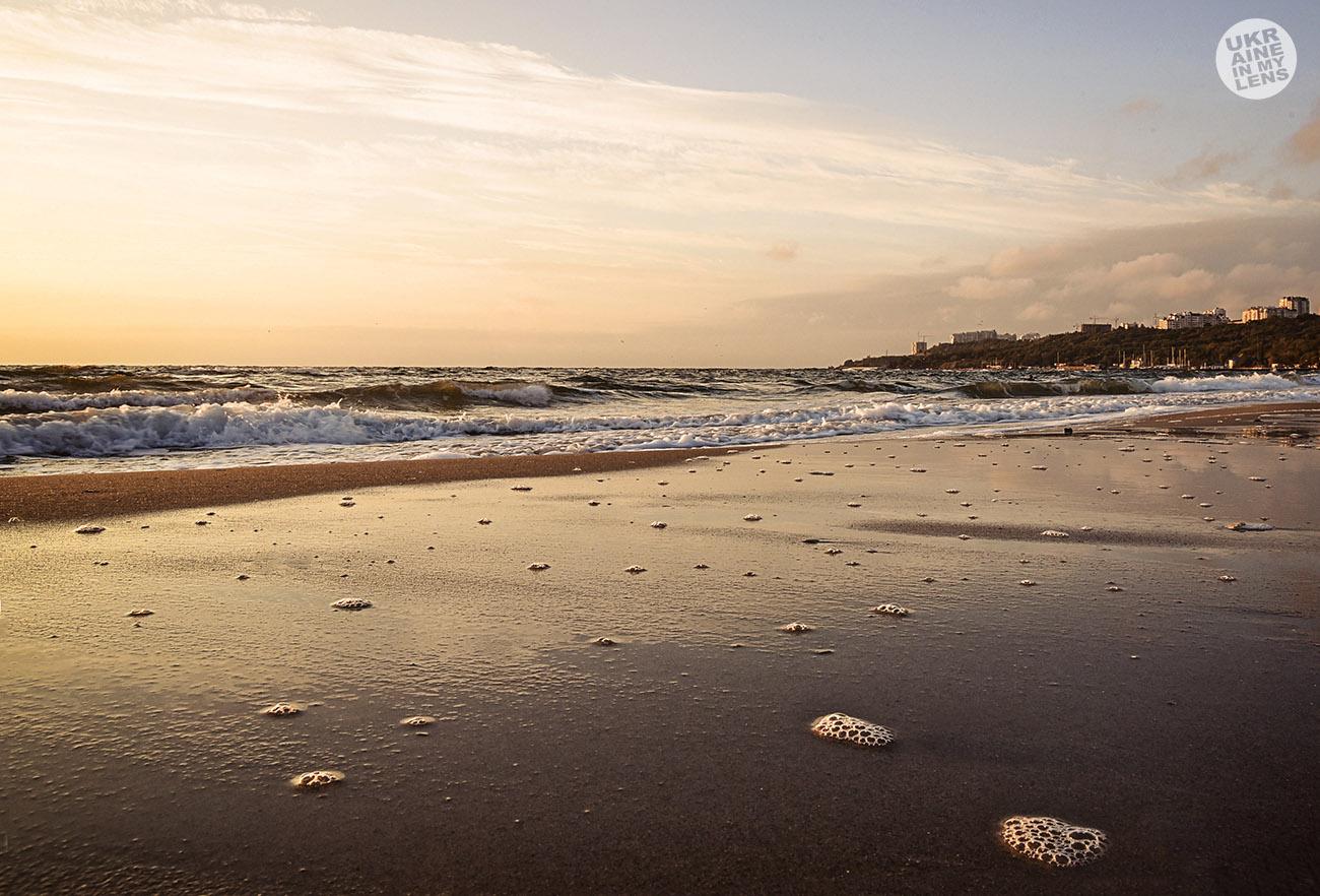 Утреннее одесское море