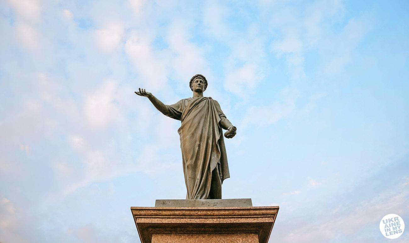 Памятник дюку де Ришельё в Одессе