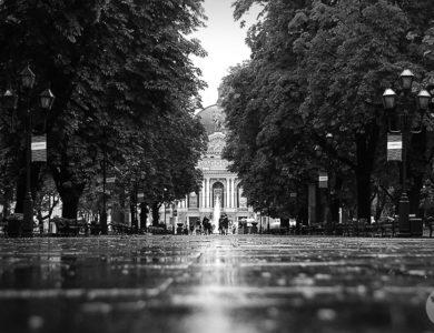 Дорога ко Львовской опере
