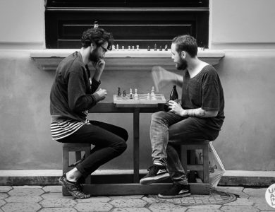 Шахматки играют в шахматы