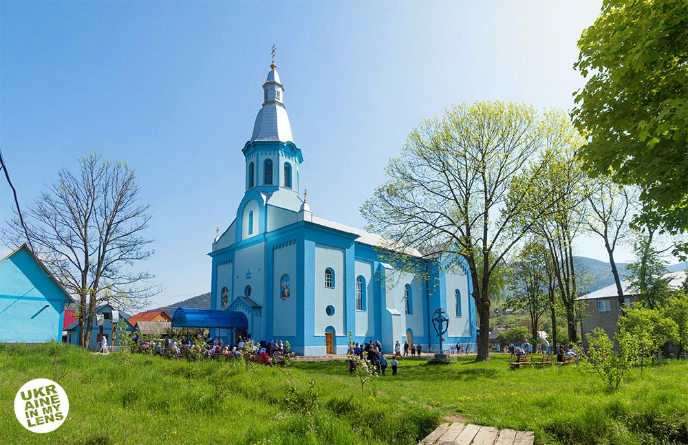 Успенская церковь села Синевир